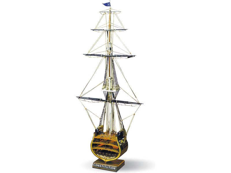 MAMOLI USS Constitution příčný řez 1:93