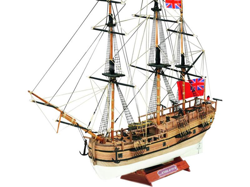 MINI MAMOLI H.M.S. Endeavour 1:143 kit