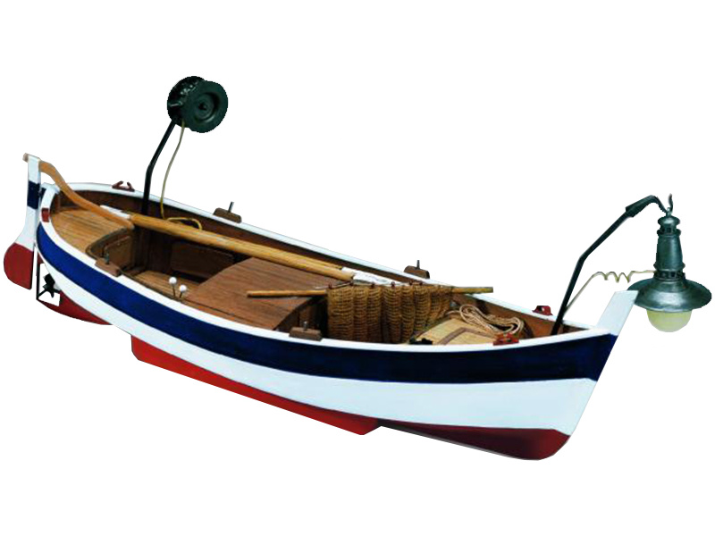 MINI MAMOLI Gozzo da pesca 1:28 kit