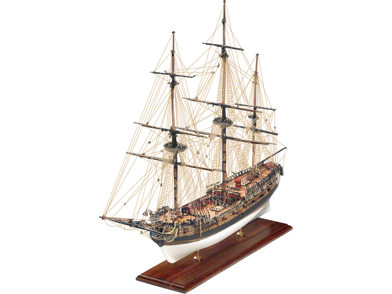 VICTORY MODELS H.M.S. Fly 1776 1:64 kit