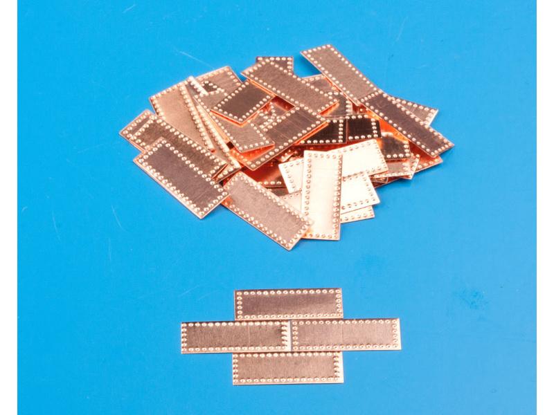 Krick Měděné desky 6x17mm 1:72 (100)