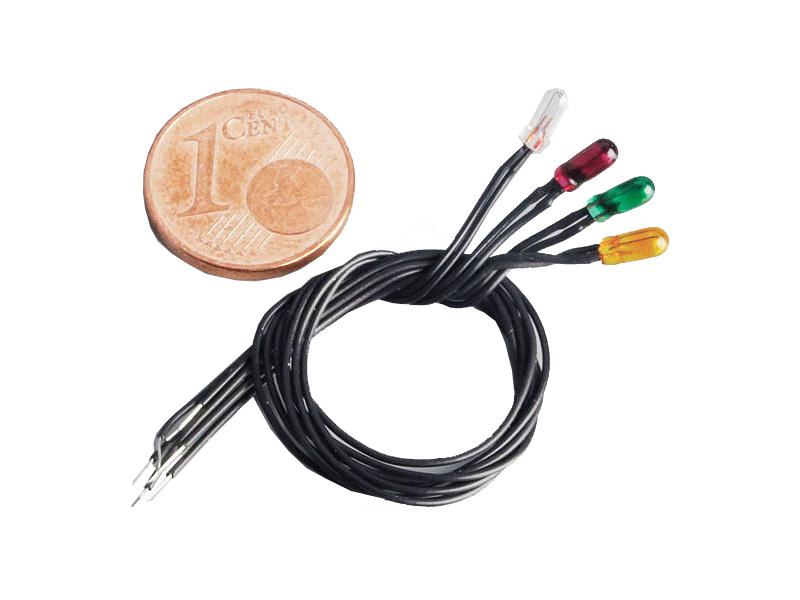 ROMARIN Lampa žlutá 6V/50mA pr. 3mm (50)