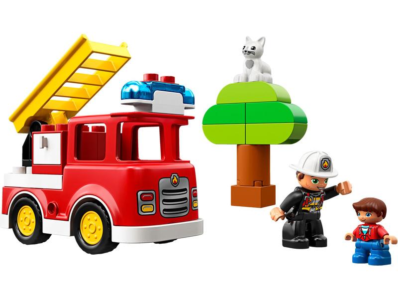 LEGO DUPLO - Hasičské auto
