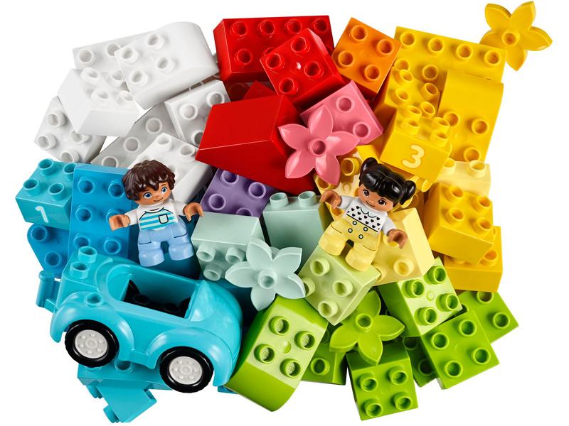 LEGO DUPLO - Box s kostkami