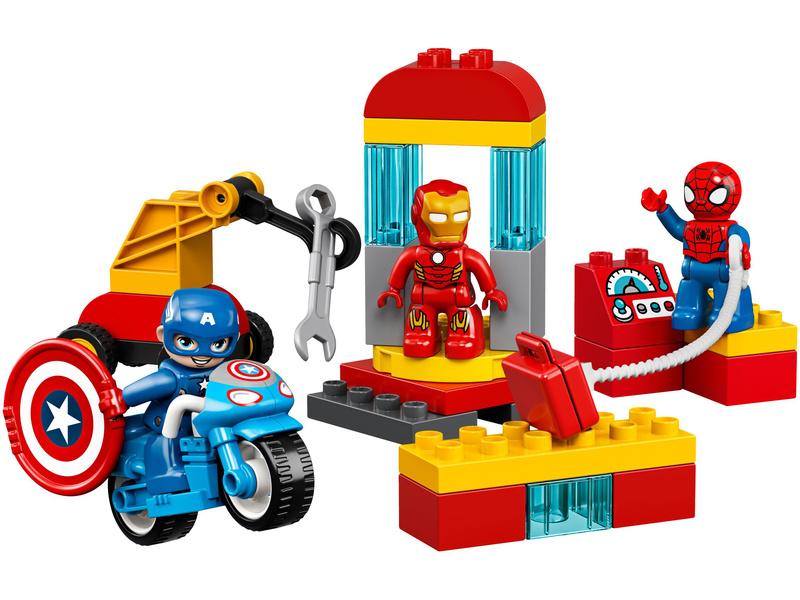 LEGO DUPLO - Laboratoř superhrdinů
