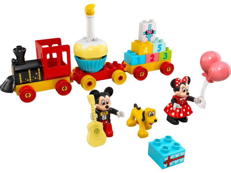 LEGO DUPLO - Narozeninový vláček Mickeyho a Minnie