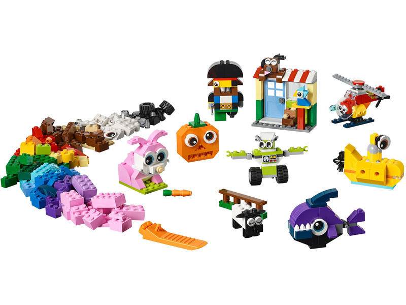 LEGO Classic - Kostky s očima