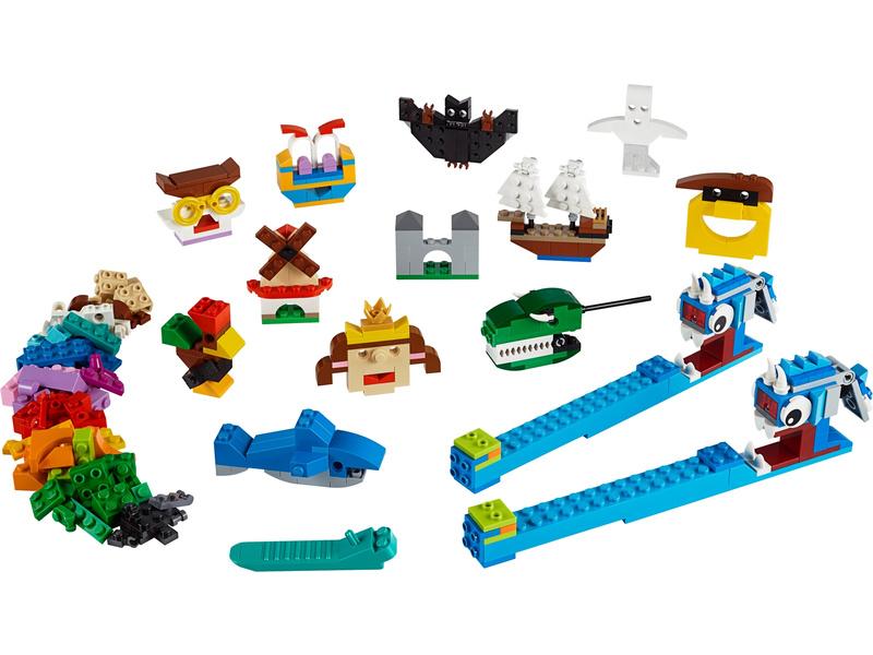 LEGO Classic - Kostky a světla