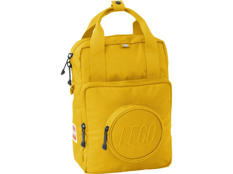 LEGO batůžek Signature Brick 1x1 - žlutý