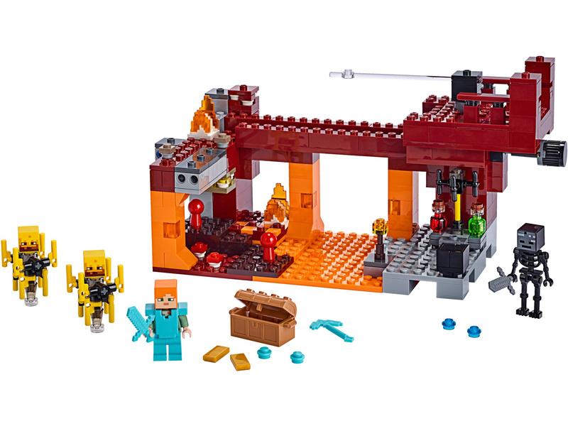 LEGO Minecraft - Most ohniváků