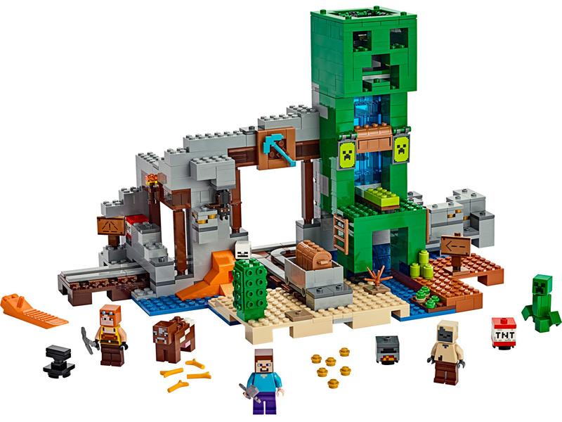 LEGO Minecraft - Creepův důl
