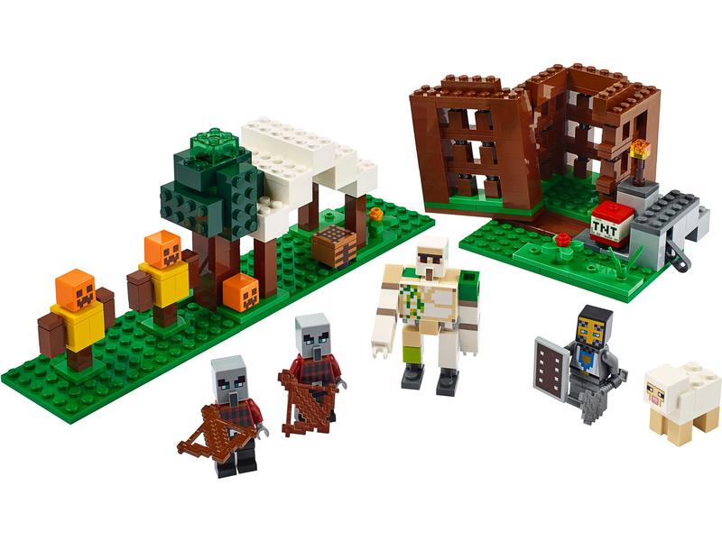 LEGO Minecraft - Základna Pillagerů