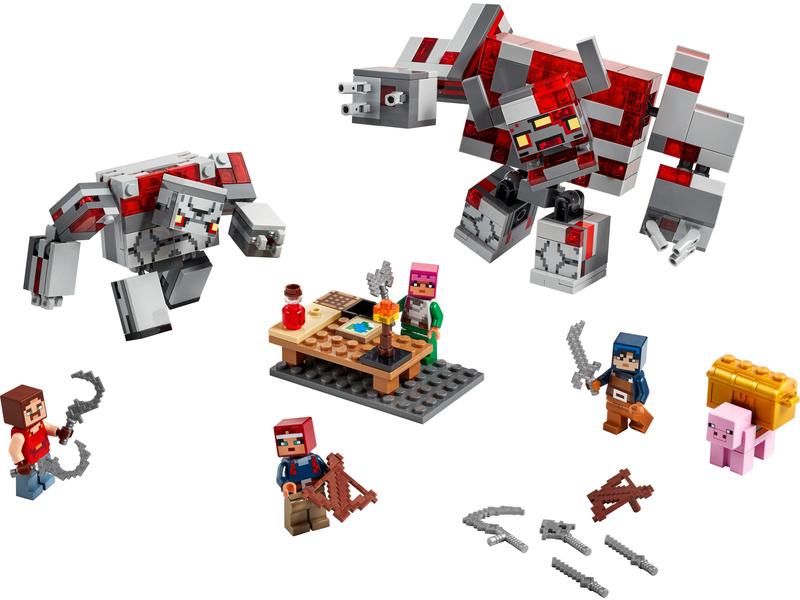 LEGO Minecraft - Bitva o rudit