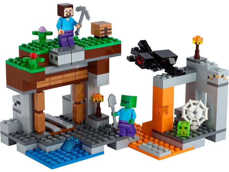 LEGO Minecraft - Opuštěný důl