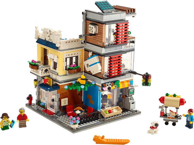 LEGO Creator - Zverimex s kavárnou