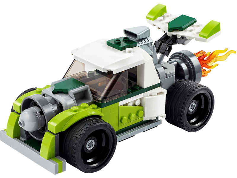 LEGO Creator - Auto s raketovým pohonem