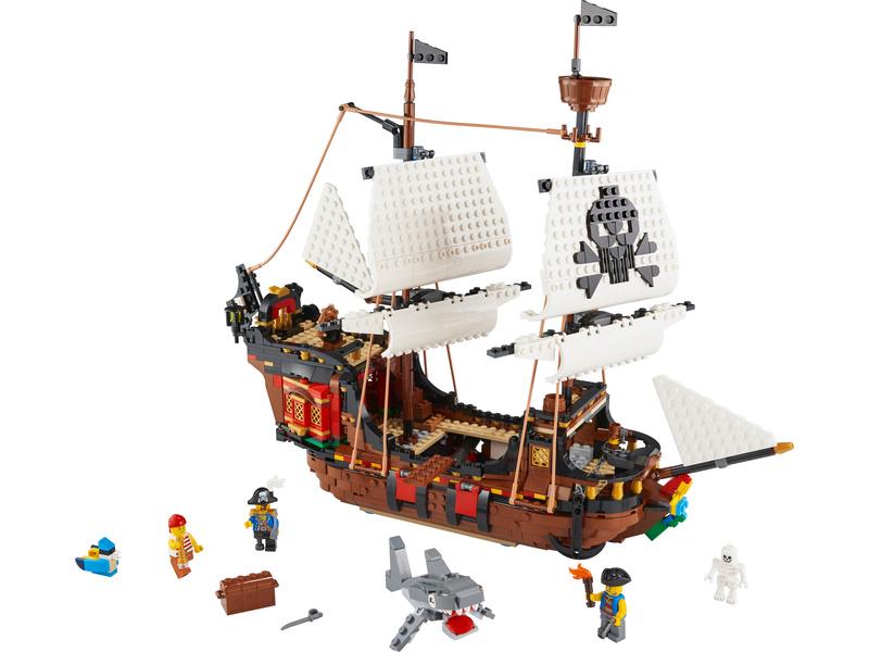 LEGO Creator - Pirátská loď