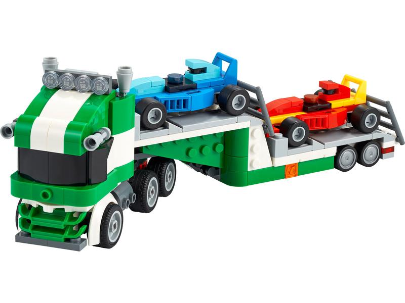 LEGO Creator - Kamion pro přepravu závodních aut