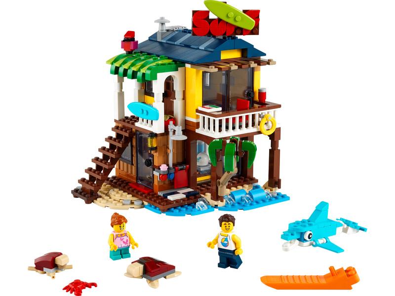 LEGO Creator - Surfařský dům na pláži
