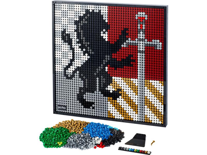 LEGO ART - Harry Potter Erby bradavických kolejí