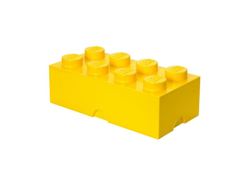 LEGO úložný box 250x500x180mm - žlutý