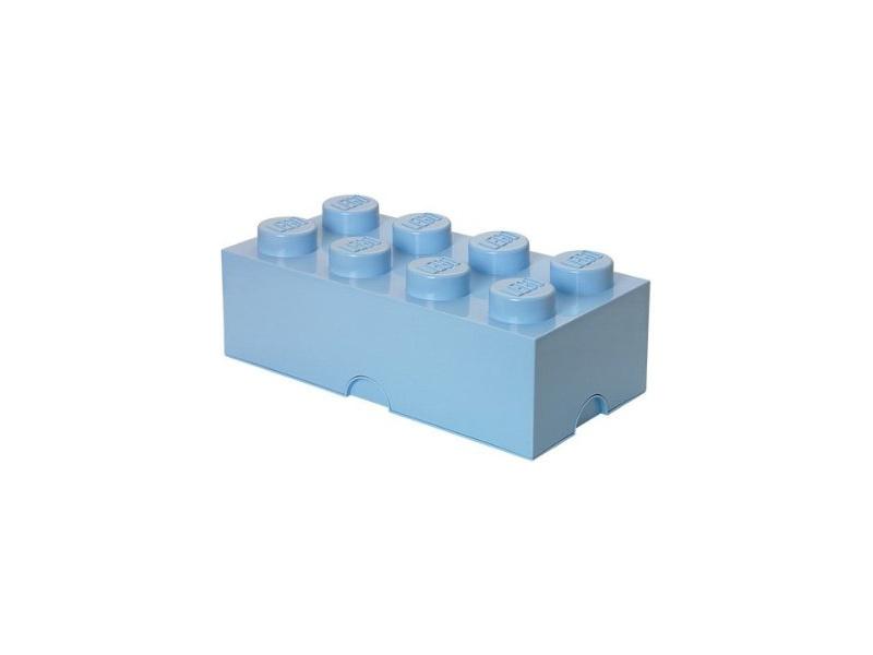 LEGO úložný box 250x500x180mm - světle modrý