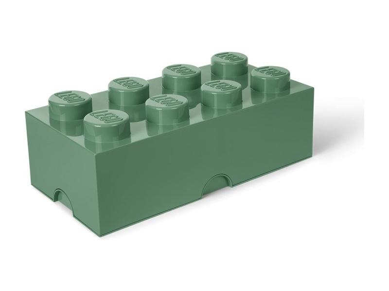 LEGO úložný box 250x500x180mm - army zelená