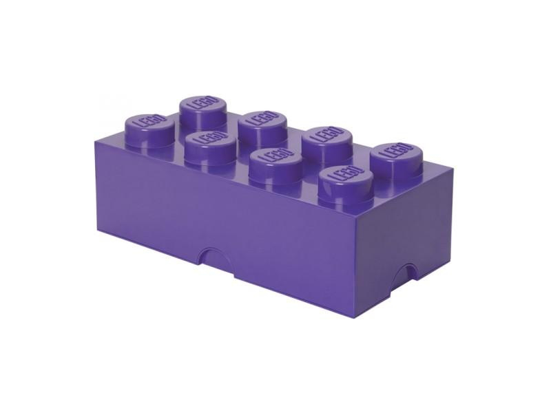 LEGO úložný box 250x500x180mm - fialová