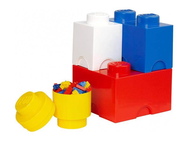 LEGO úložné boxy Multi-Pack - 4ks