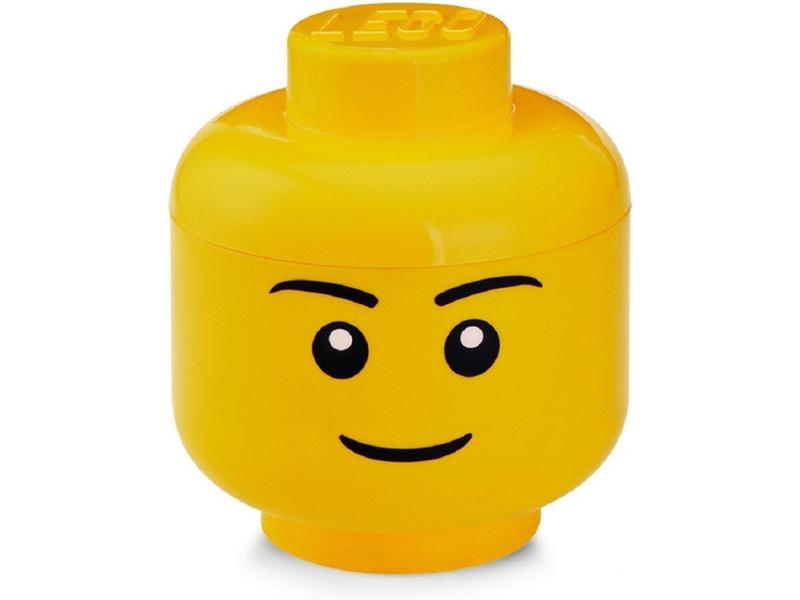 LEGO úložná hlava malá - chlapec