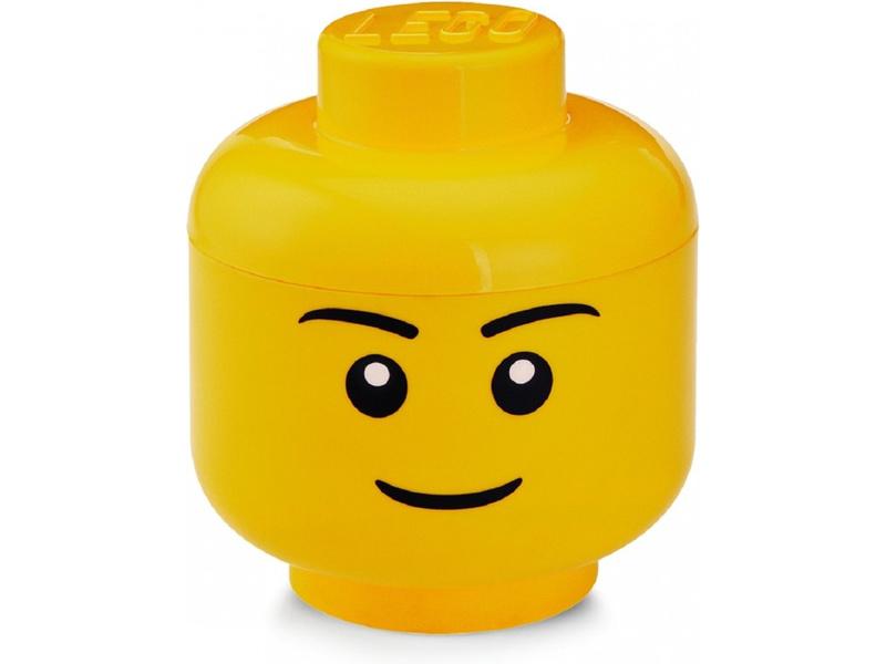LEGO úložná hlava veká - chlapec
