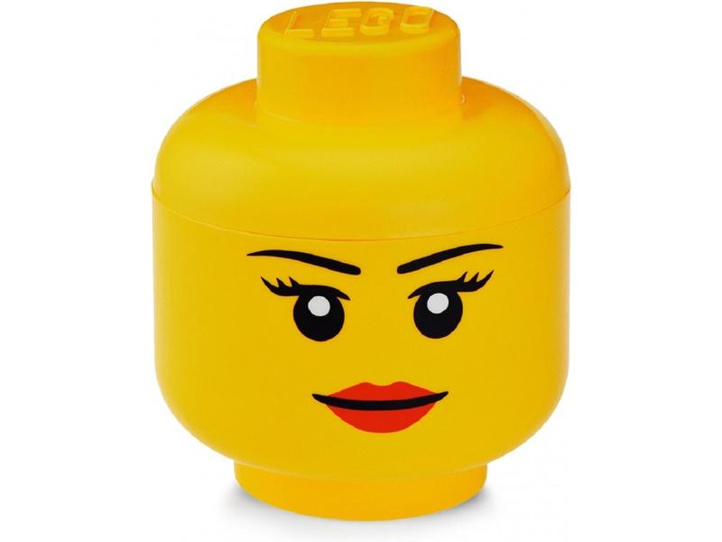 LEGO úložná hlava veká - dívka