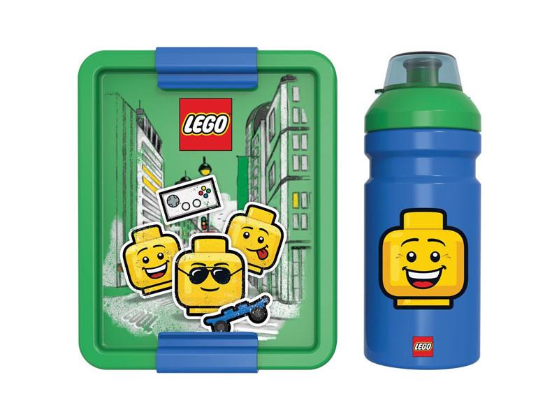 LEGO svačinový set - Iconic Boy modrý