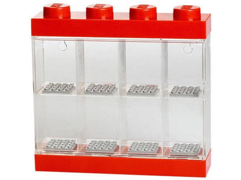 LEGO sběratelská skříňka malá - červená