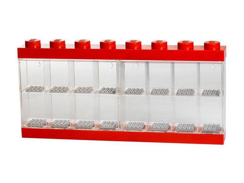 LEGO sběratelská skříňka velká - červená