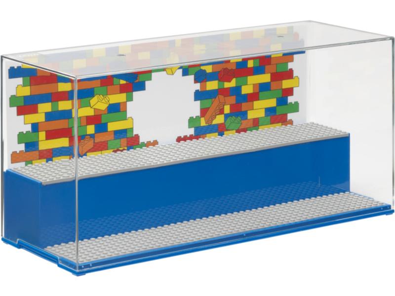 LEGO herní a sběratelská skříňka - Iconic modrá