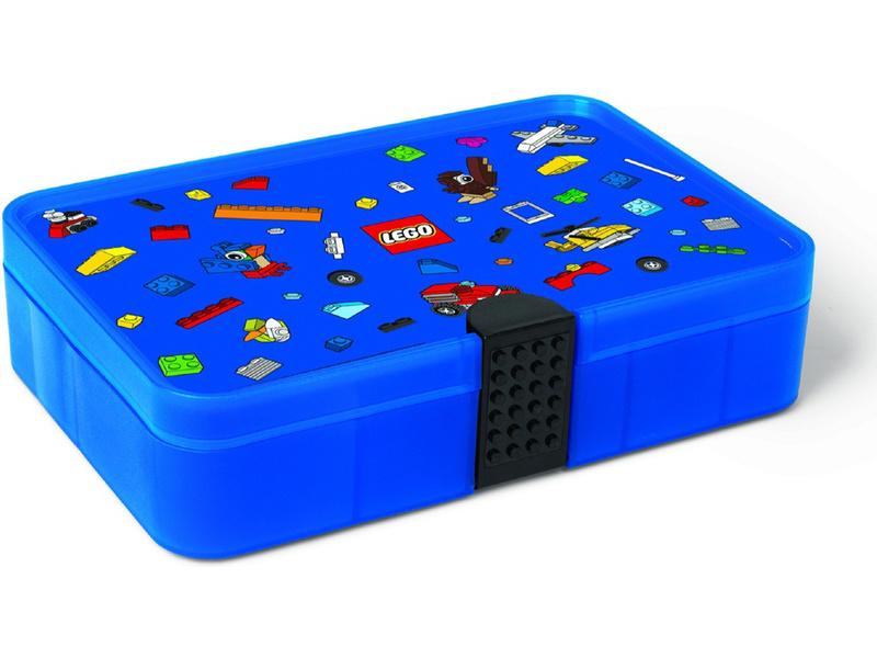 LEGO Iconic úložný box s přihrádkami - modrá
