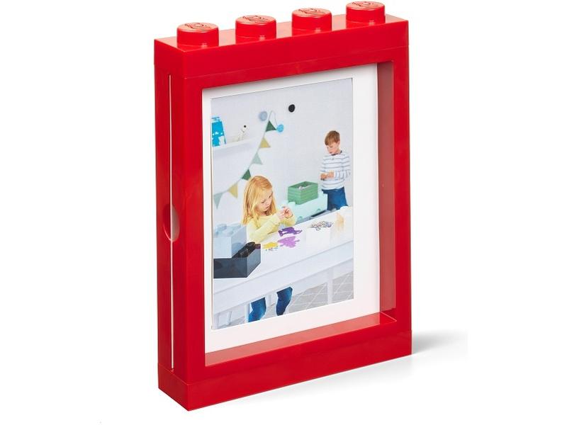LEGO fotorámeček červený