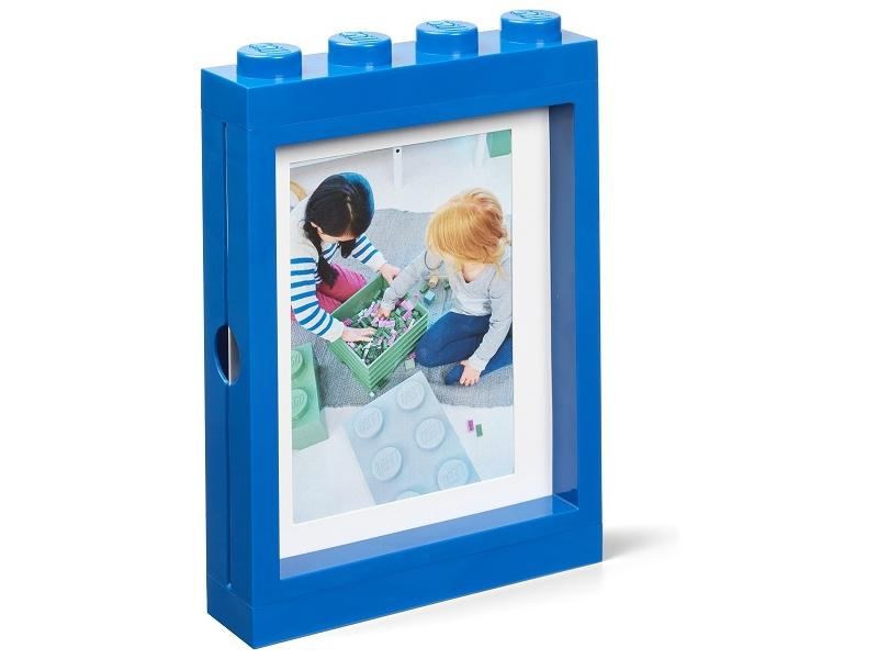 LEGO fotorámeček modrý