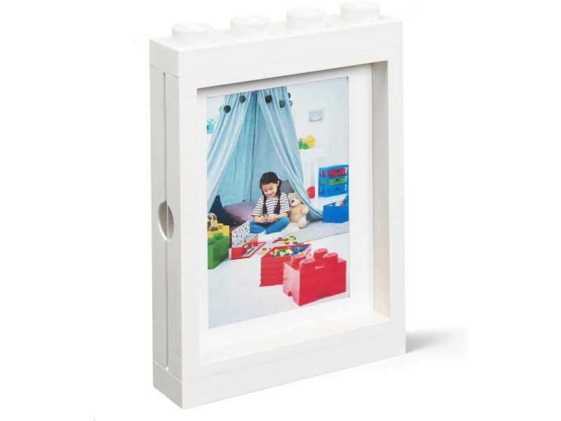 LEGO fotorámeček bílý