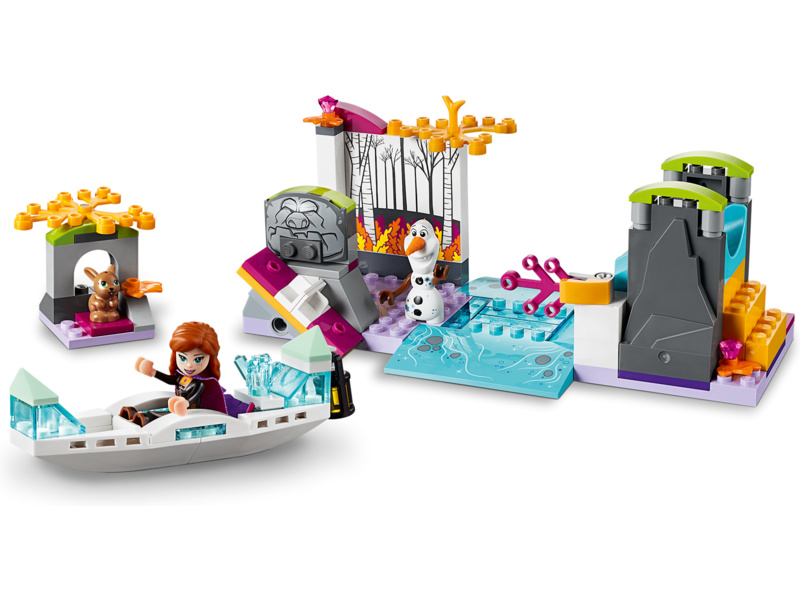 LEGO Disney Frozen - Anna a výprava na kánoi