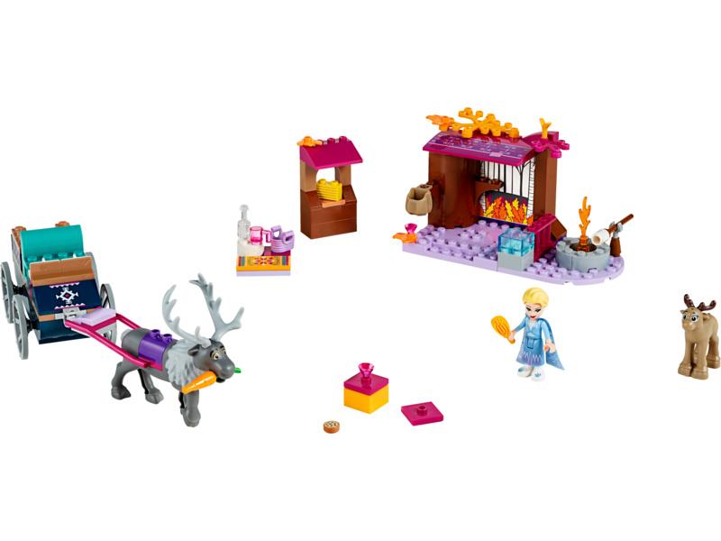 LEGO Disney Frozen - Elsa a dobrodružství s povoze