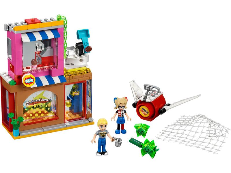 LEGO Super Heroes - Harley Quinn spěchá na pomoc