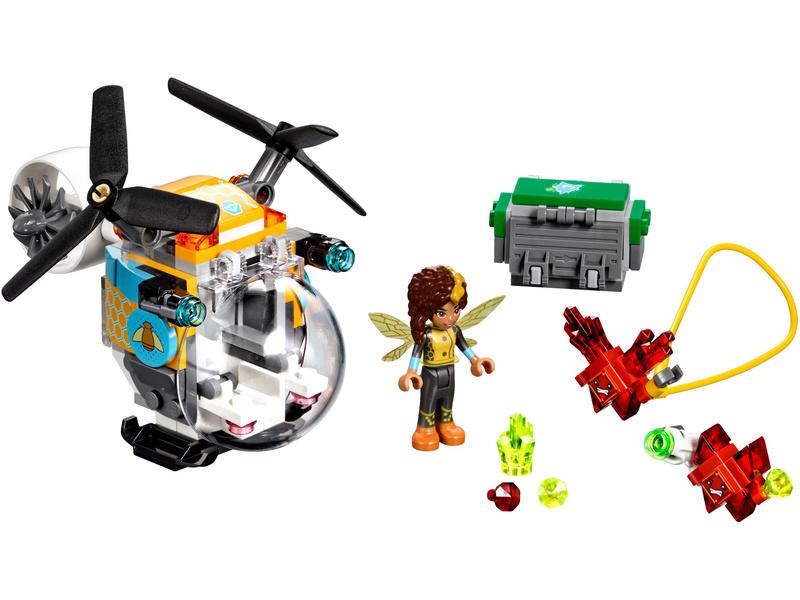 LEGO Super Heroes - Bumblebee a helikoptéra
