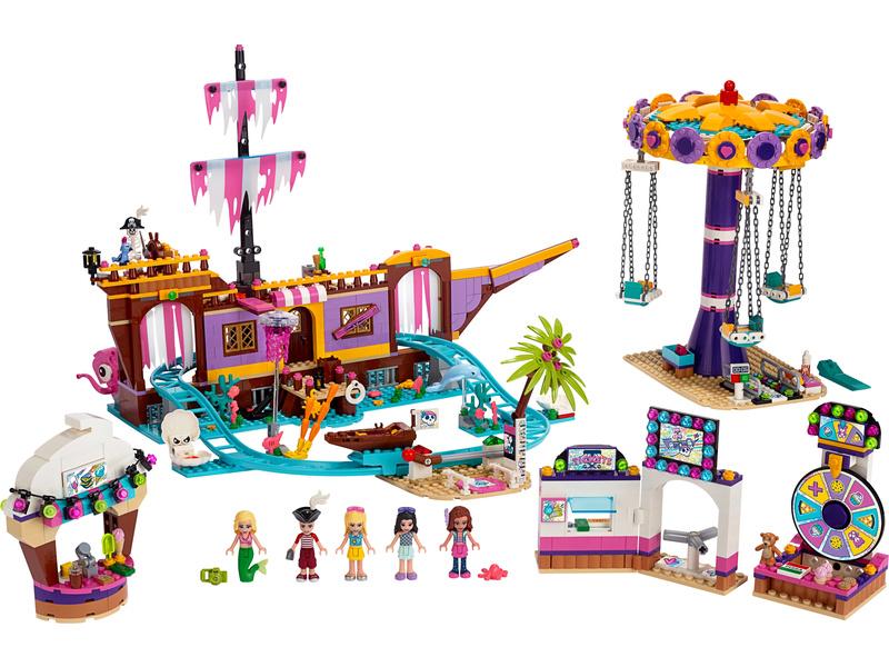 LEGO Friends - Zábavný park na molu