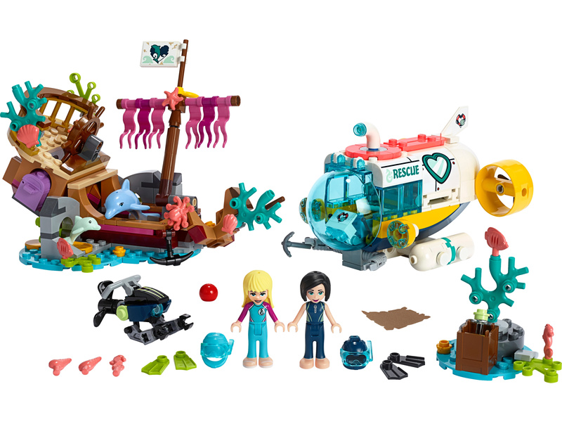 LEGO Friends - Mise na záchranu delfínů