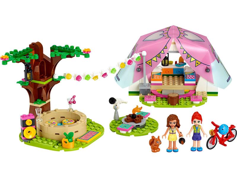 LEGO Friends - Luxusní kempování v přírodě