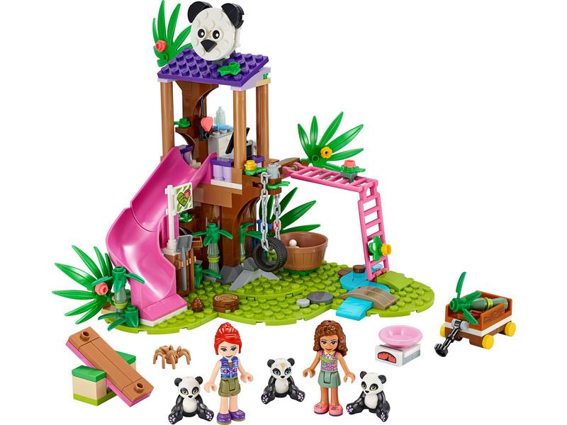 LEGO Friends - Pandí domek na stromě v džungli