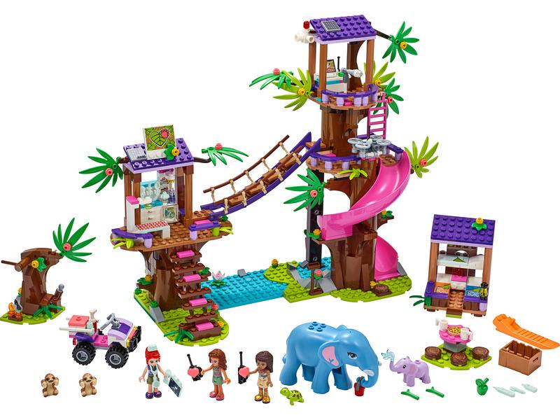 LEGO Friends - Základna záchranářů v džungli