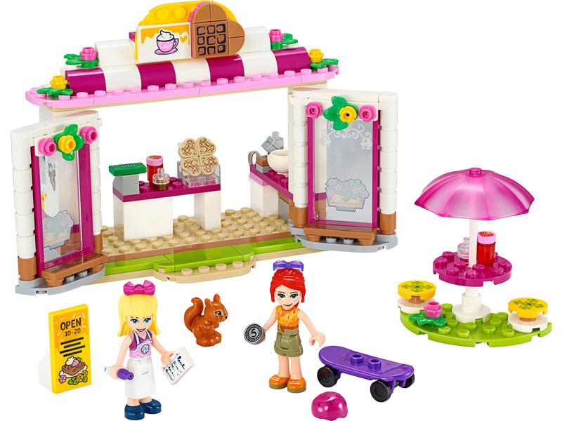 LEGO Friends - Kavárna v parku městečka Heartlake